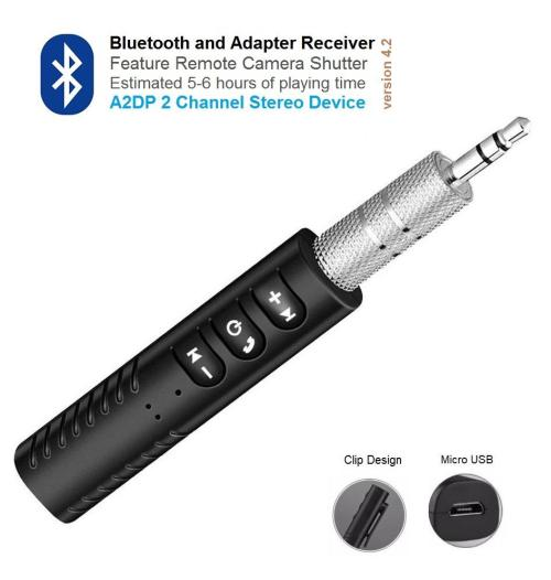 small resolution of bluetooth receiver 2 channel stereo device that will convert your home speaker old car stereo