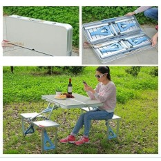folding chair picnic table skull plans outdoor tables for sale patio prices brands in hopeway shop aluminum alloy and suit