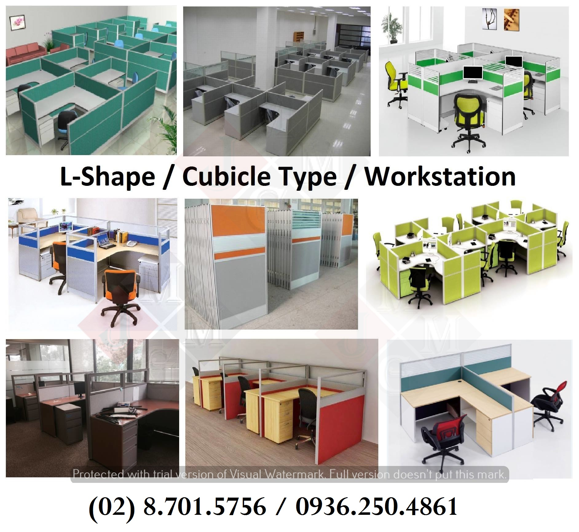 L Type Cubicle Workstation Office Partition Factory Price Lazada Ph
