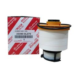 toyota genuine parts fuel filter 23390 0l070 for toyota fortuner 2016  [ 2000 x 2000 Pixel ]