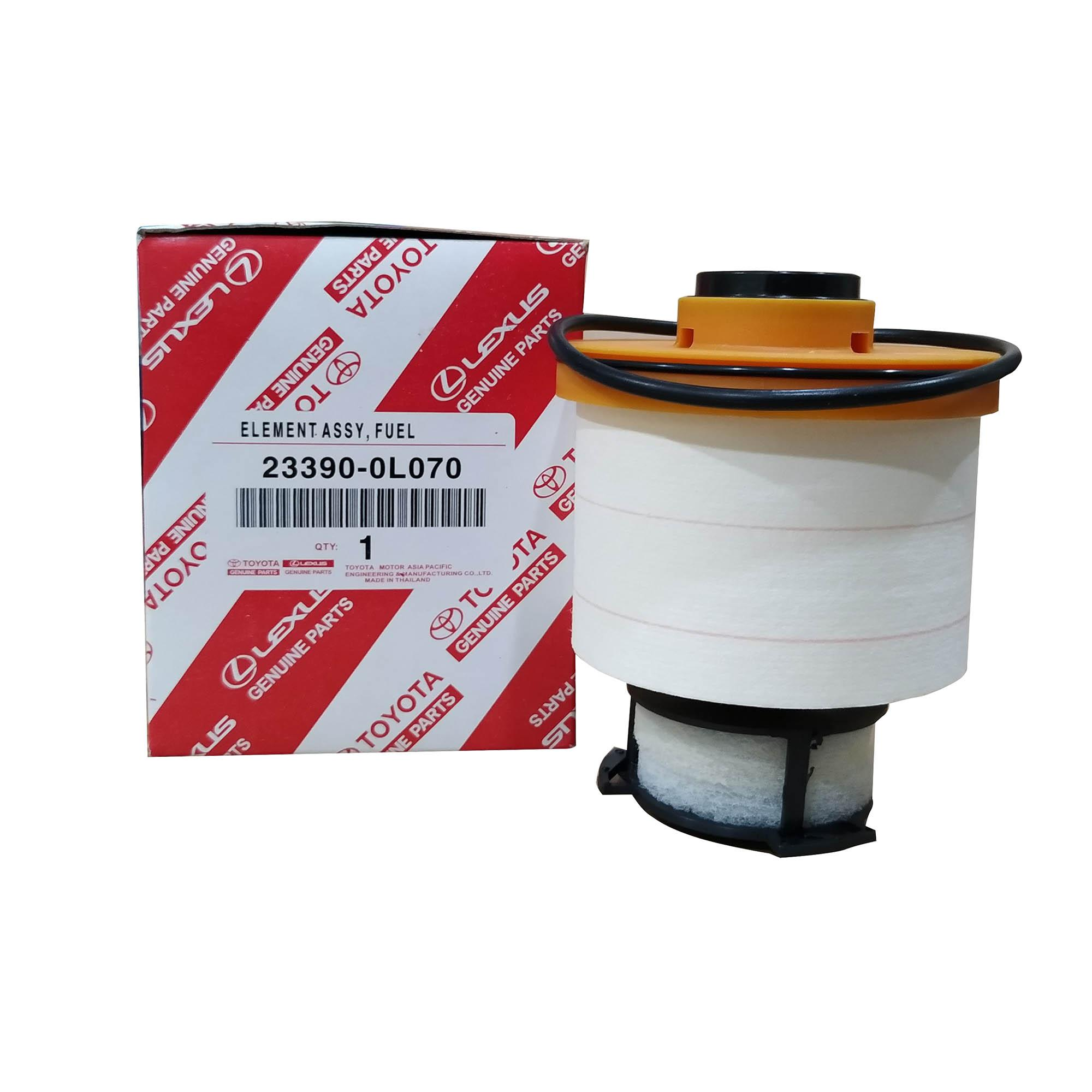 hight resolution of toyota genuine parts fuel filter 23390 0l070 for toyota fortuner 2016