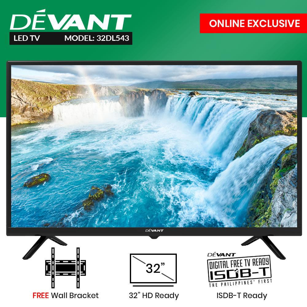 hight resolution of devant 32 inc hd ready led tv 32dl543 with free wall bracket