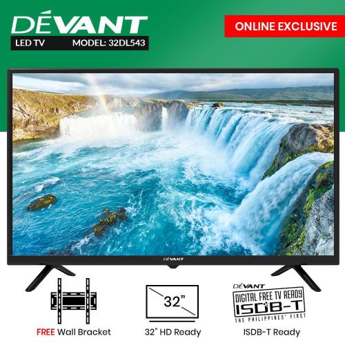 small resolution of devant 32 inc hd ready led tv 32dl543 with free wall bracket