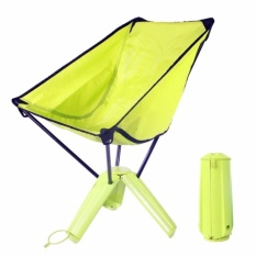 portable folding chairs swing chair decor camping for sale online brands outdoor ultralight with carrying case fishing backpacking green