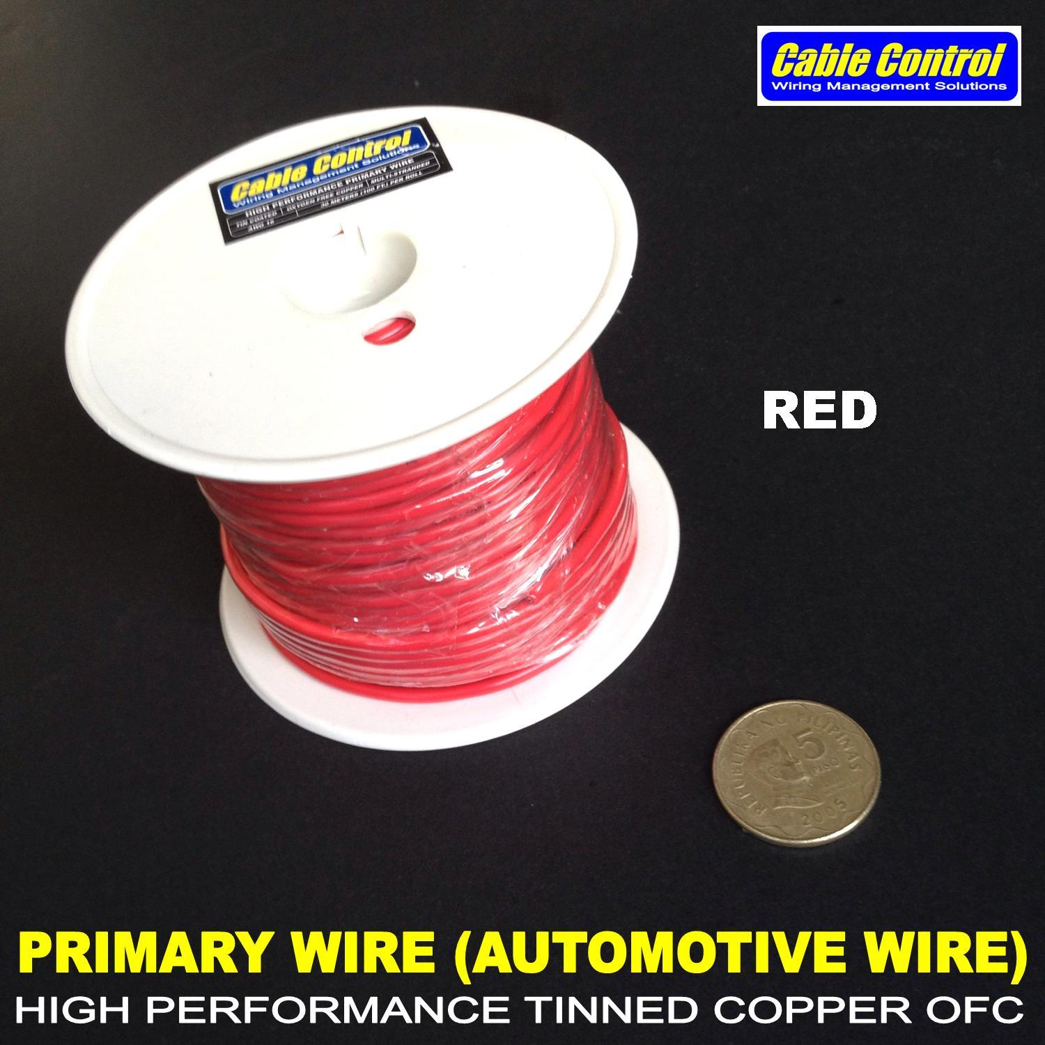hight resolution of product details of cable control tinned ofc primary wire automotive wire gauge 18 roll automotive wire 30meters roll car audio wire car restoration