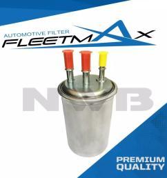 fleetmax fuel filter ffs1308 for kia carnival crdi 2007 2014 [ 1023 x 1023 Pixel ]