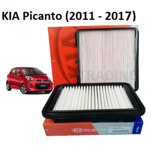 small resolution of combo air filter and cabin filter for kia picanto 2nd gen 2011 2017