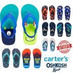 Carters Slippers Flip Flops Sandals For Boys Oshkosh Baby Boys Kids Toddlers Birthday Gift Beach Baby Shower Strap Lazada Ph