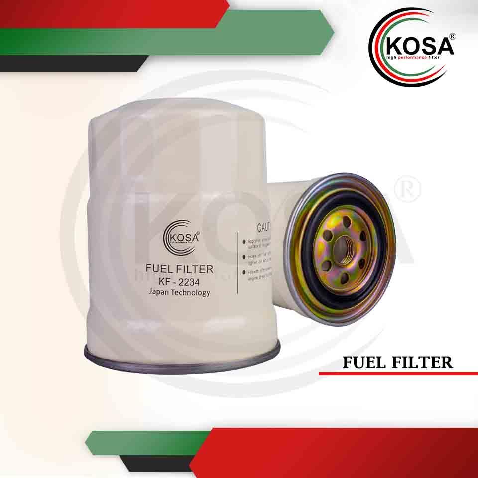 medium resolution of kosa fuel filter kf 2234 for nissan td27 by pass