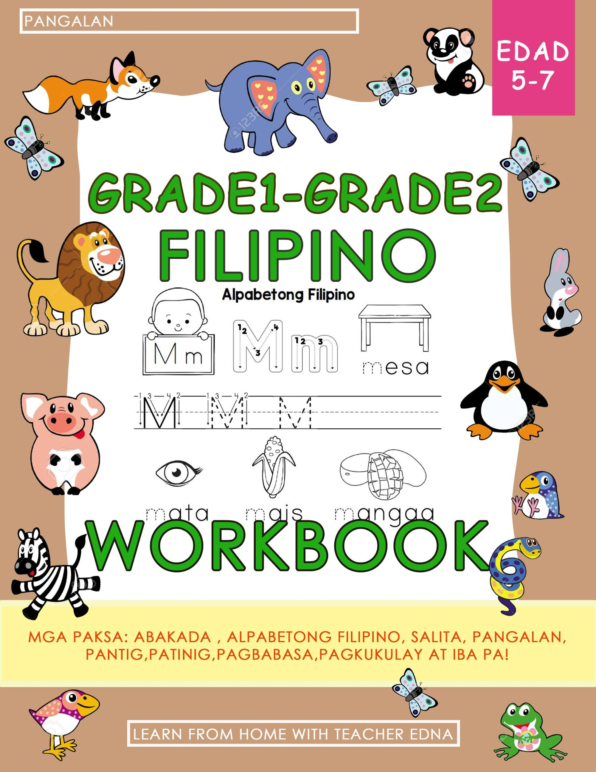 hight resolution of Grade1 - Grade2 FILIPINO WORKBOOK   Lazada PH