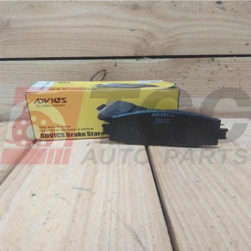 small resolution of advics disc brake pads for toyota hiace d4d ain229t 2005 15
