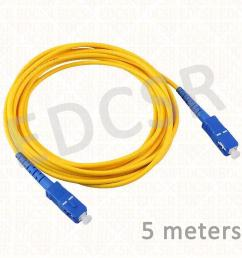 fiber optic patch cable sc pc sc pc 5 meters [ 2000 x 2000 Pixel ]