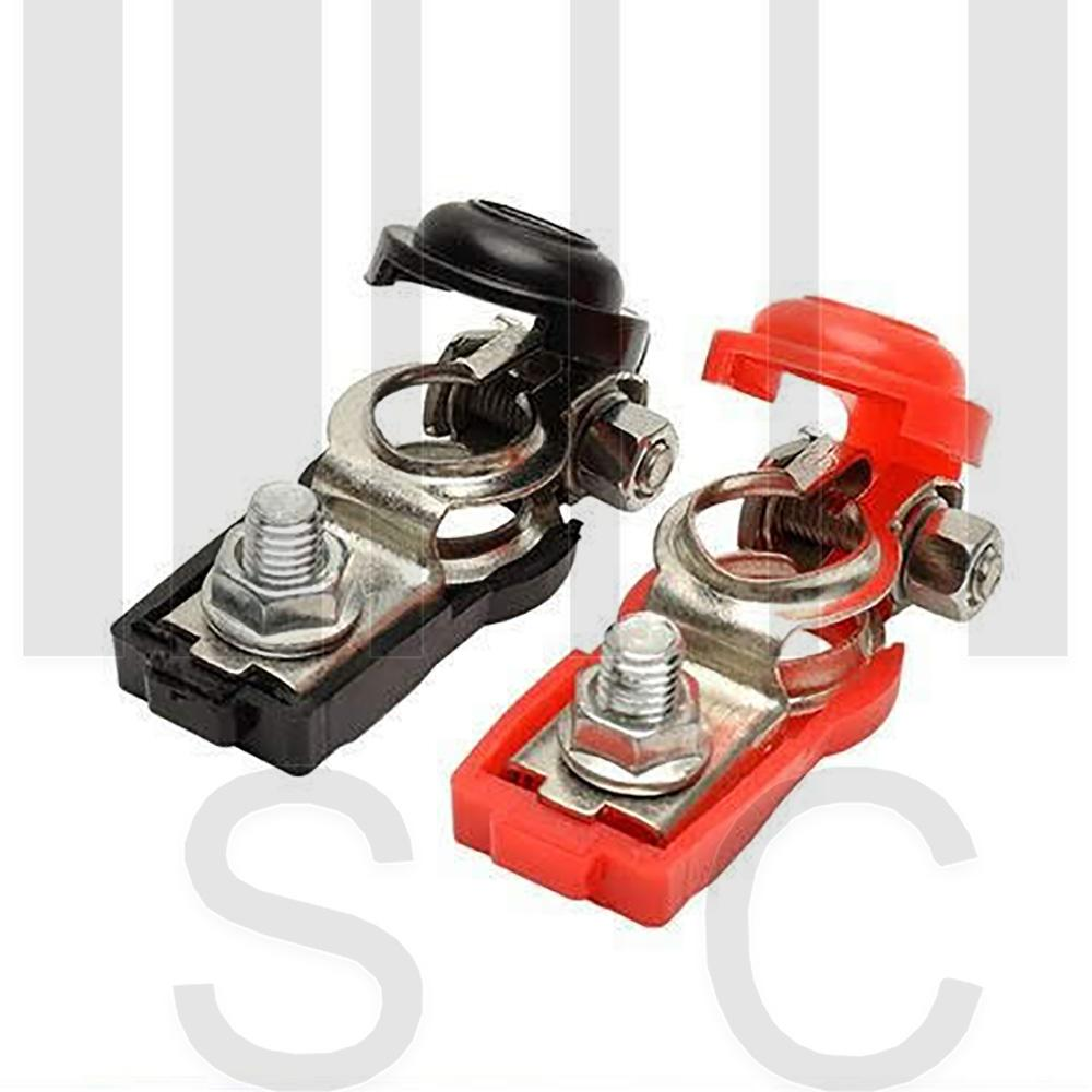hight resolution of car battery terminal clamps pair