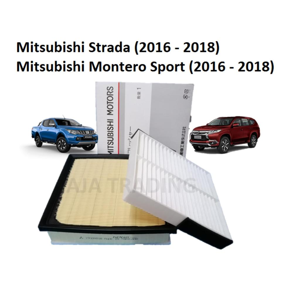 medium resolution of combo air filter and cabin filter for mitsubishi strada and montero sport diesel 2016 2018