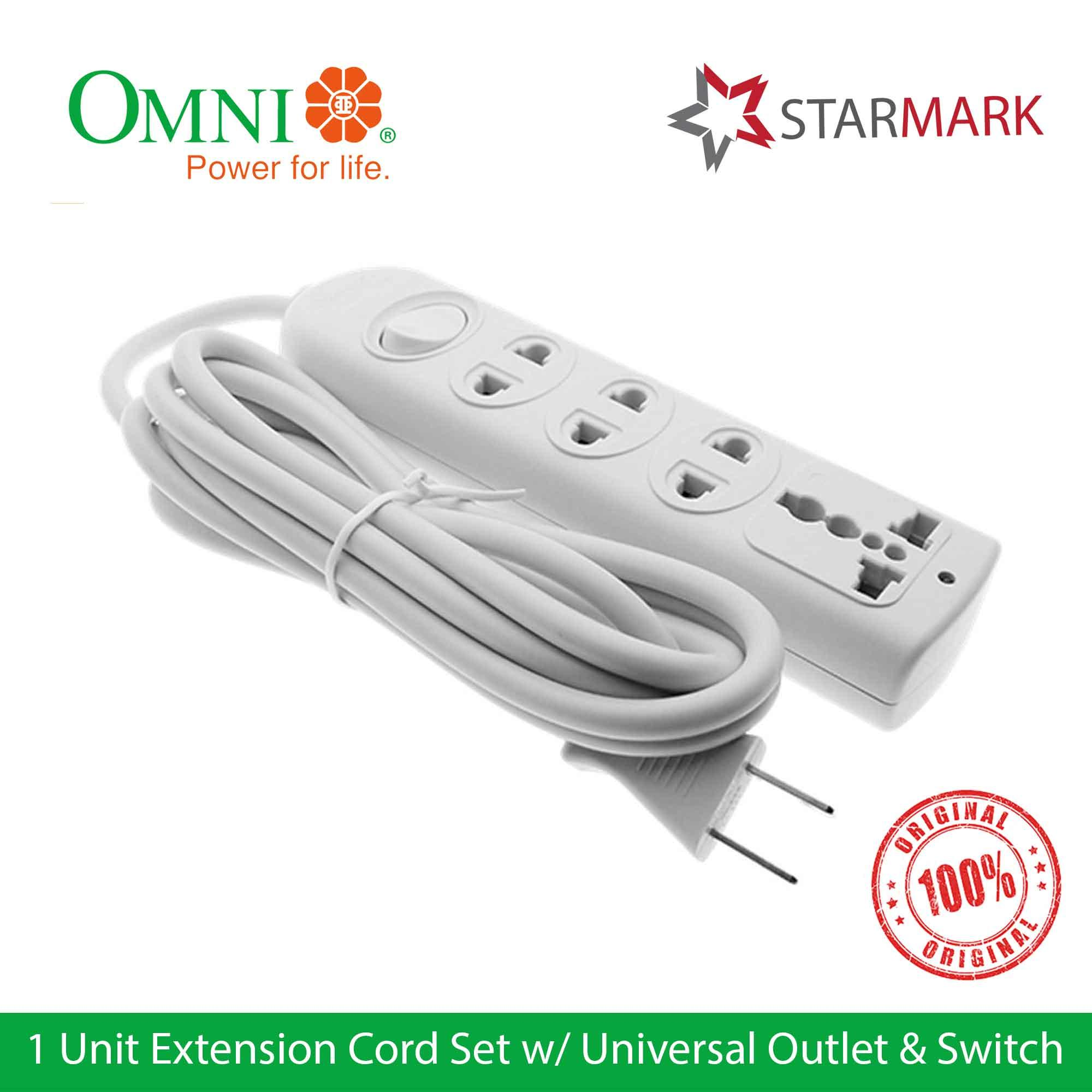 hight resolution of omni extension cord set with universal outlet and switch wer103 wer 103 genuine and