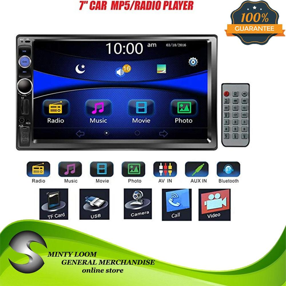 medium resolution of car radio 2din universal 7 hd ios android mirrorlink car mp5 multimedia player stereo