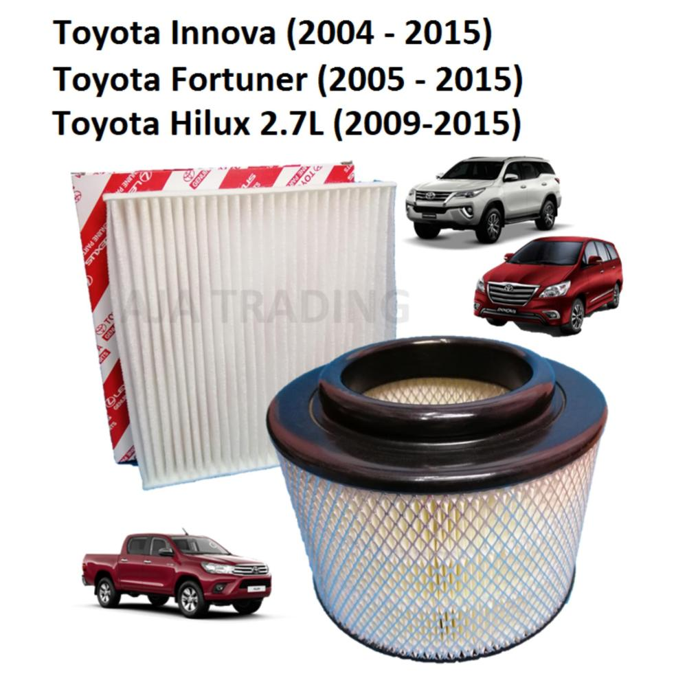 medium resolution of combo air filter and cabin filter for toyota innova 2004 2015 toyota