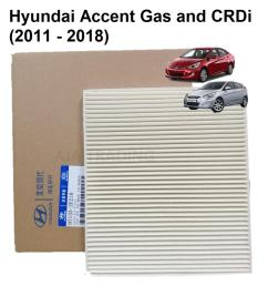 cabin air filter element for hyundai accent gas and crdi 2011 up  [ 1920 x 1920 Pixel ]