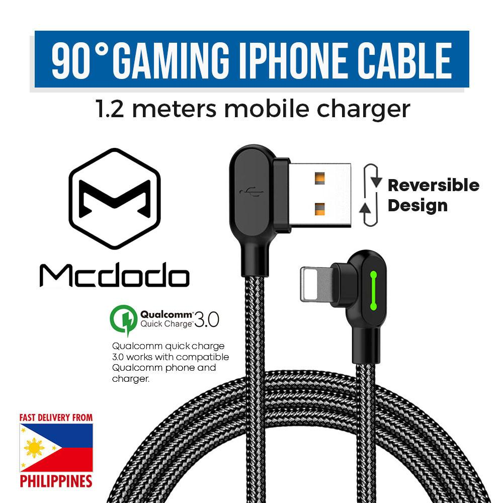 hight resolution of mcdodo ca 4671 iphone gaming lightning charging cable 1 2m