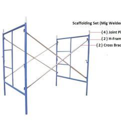 scaffolding set [ 1920 x 1920 Pixel ]