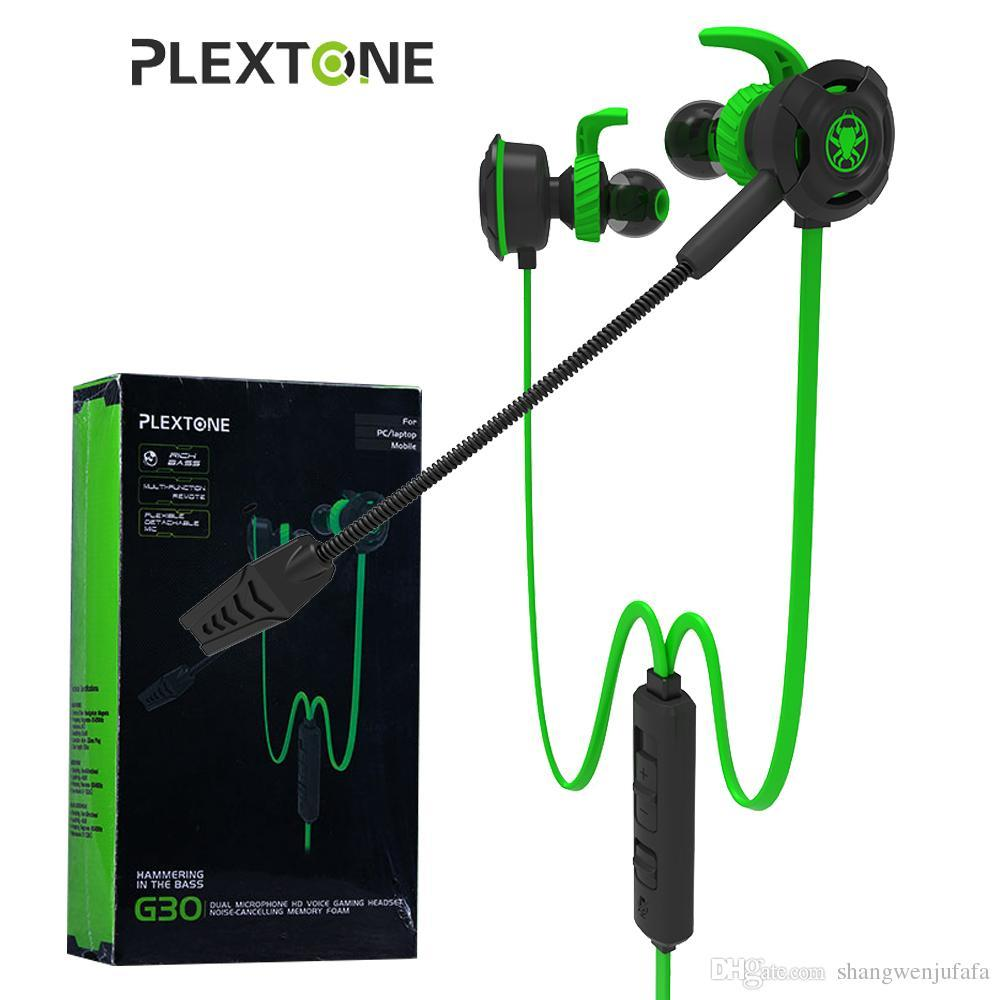 medium resolution of plextone g30 pc gaming headset with microphone in ear bass noise cancelling earphone with mic for phone computer lazada ph