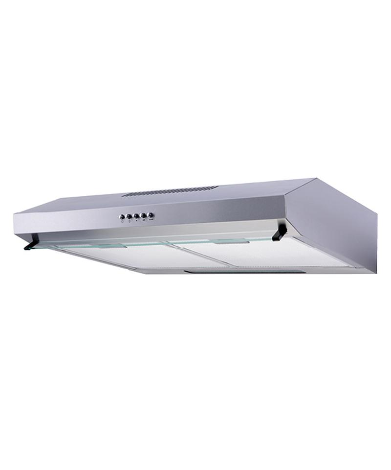 rangehood double motor under cabinet ducted ductless convertible top rear duct slim kitchen stove vent with led light 3 speed exhaust fan