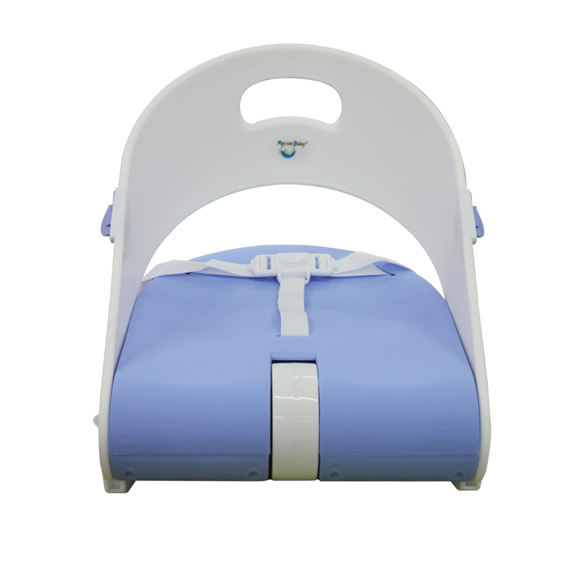 Booster High Chair Seat Moonbaby Booster Seat Mb 511 Light Blue