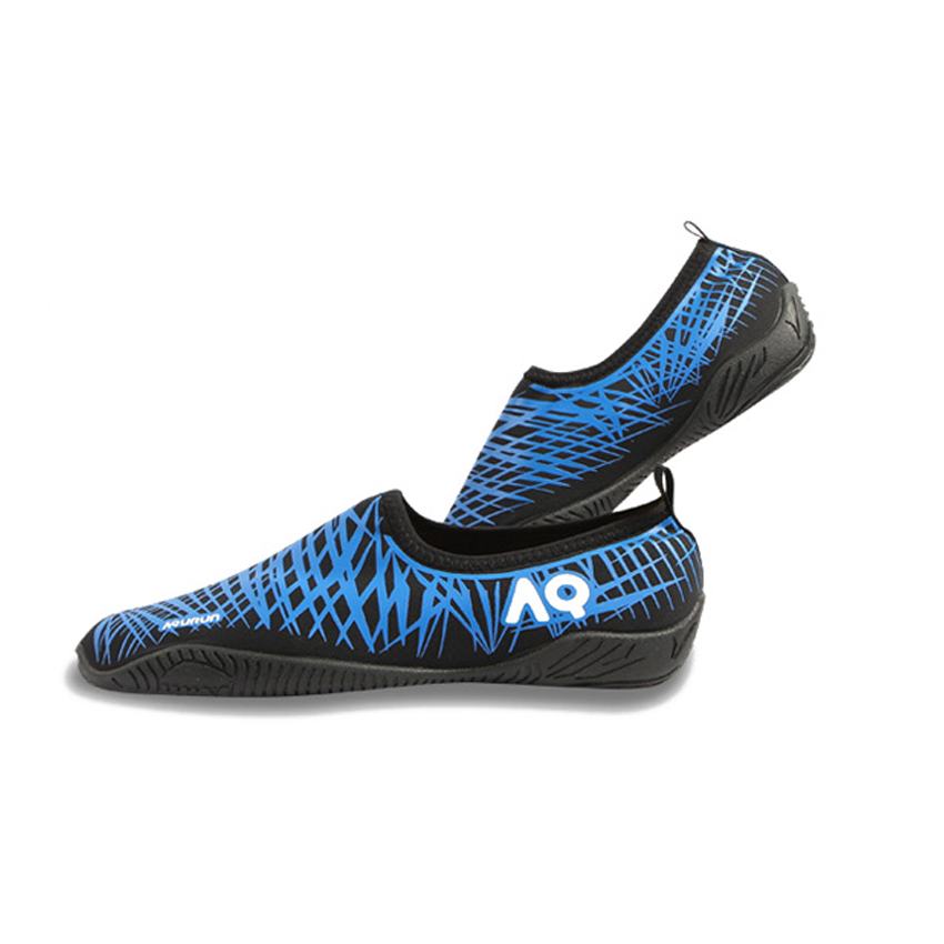 Water Shoes / Aqua Shoes – AQ (Basic Black/Blue)