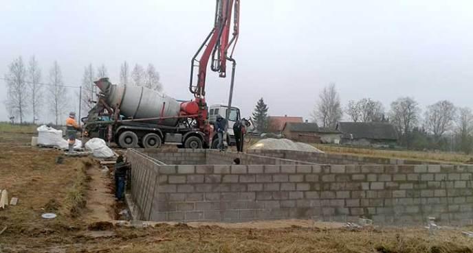 Betoneerimistööd