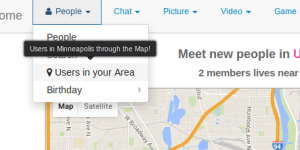 Map Local Dating Site Builder