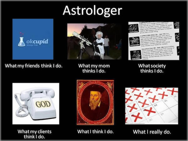 Astrologer meme graphic
