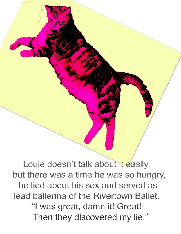 The late Louie was a wonderful cat.