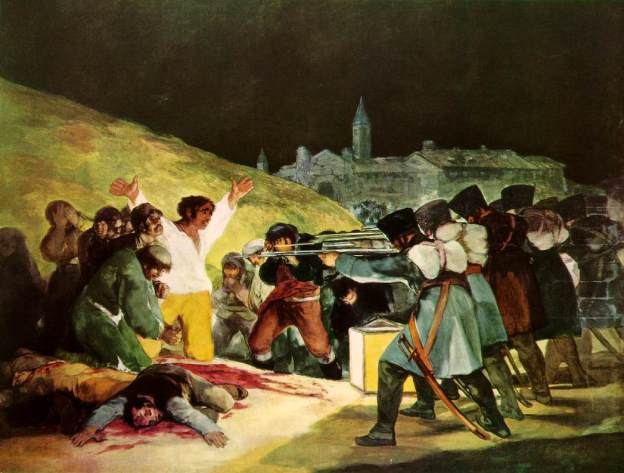 The best way to handle revolutionaries and anarchists is to put them in front of a wall, and shoot them! Well, guillotines work, too.