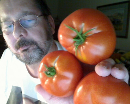 """My garden space is so poor, this was a whole season's """"crop"""" a few years back."""