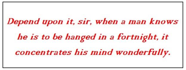 ~ from Boswell's Life of Samuel Johnson