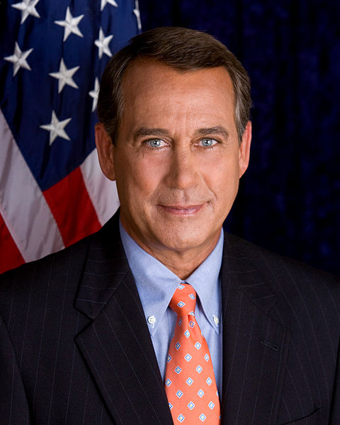 John Boehner. Yeah, he does look like a nice guy!