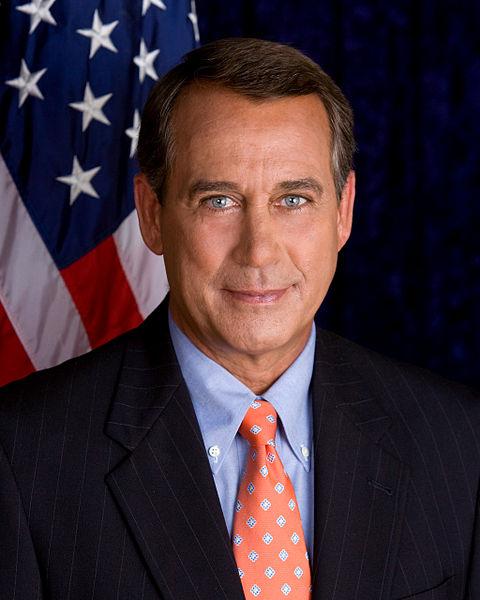 John Boehner. Yeah, he does look like a nice guy!