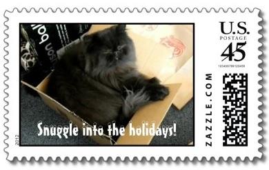 christmas stamps 2012
