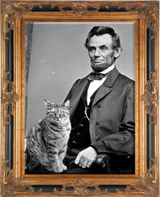 The state capital is named after this cat lover. Good choice!