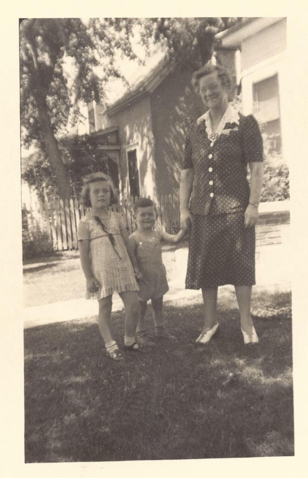 Our Scottish immigrant maternal grandmother.