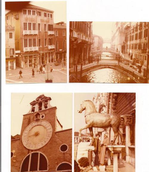 Yvonne dates here obsession with Venice back to 1980. (Some of her early photos....)