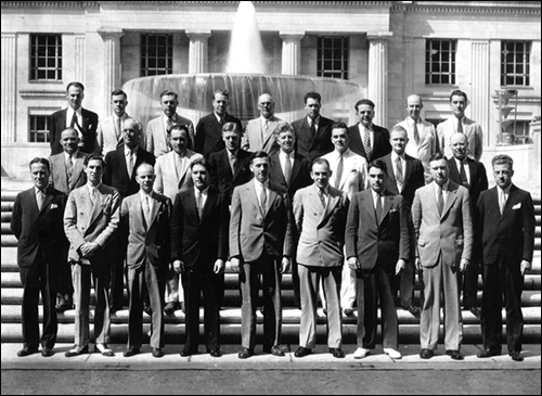 First class of the FBI Academy 1935
