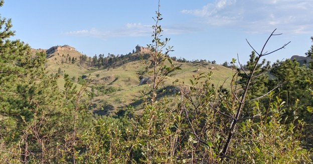 The rugged landscape of this part of Nebraska is a major attraction for outdoors activities.