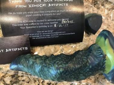 Xenocat Artifacts Caiman packaging