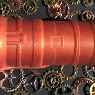 Tantus Steam Hunk sci-fi dildo gears