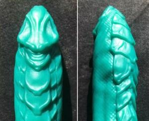 Mr Hankeys Toys Dragon dildo ridges comparison