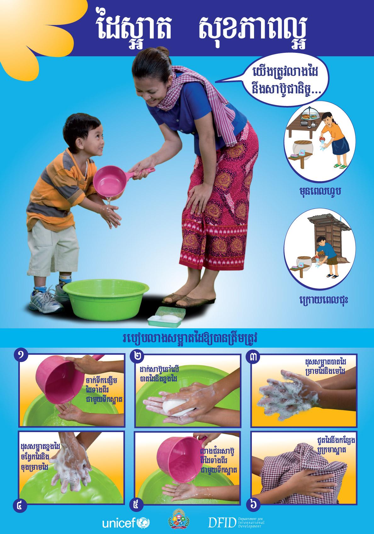 Ph M H Ng Ph C Washing Hand Poster