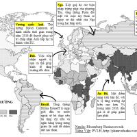 Triển vọng kinh tế thế giới năm 2016: Chỉ tăng trưởng tàm tạm