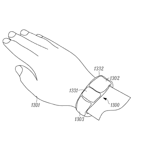 Motorola files patent for smartwatch with multiple