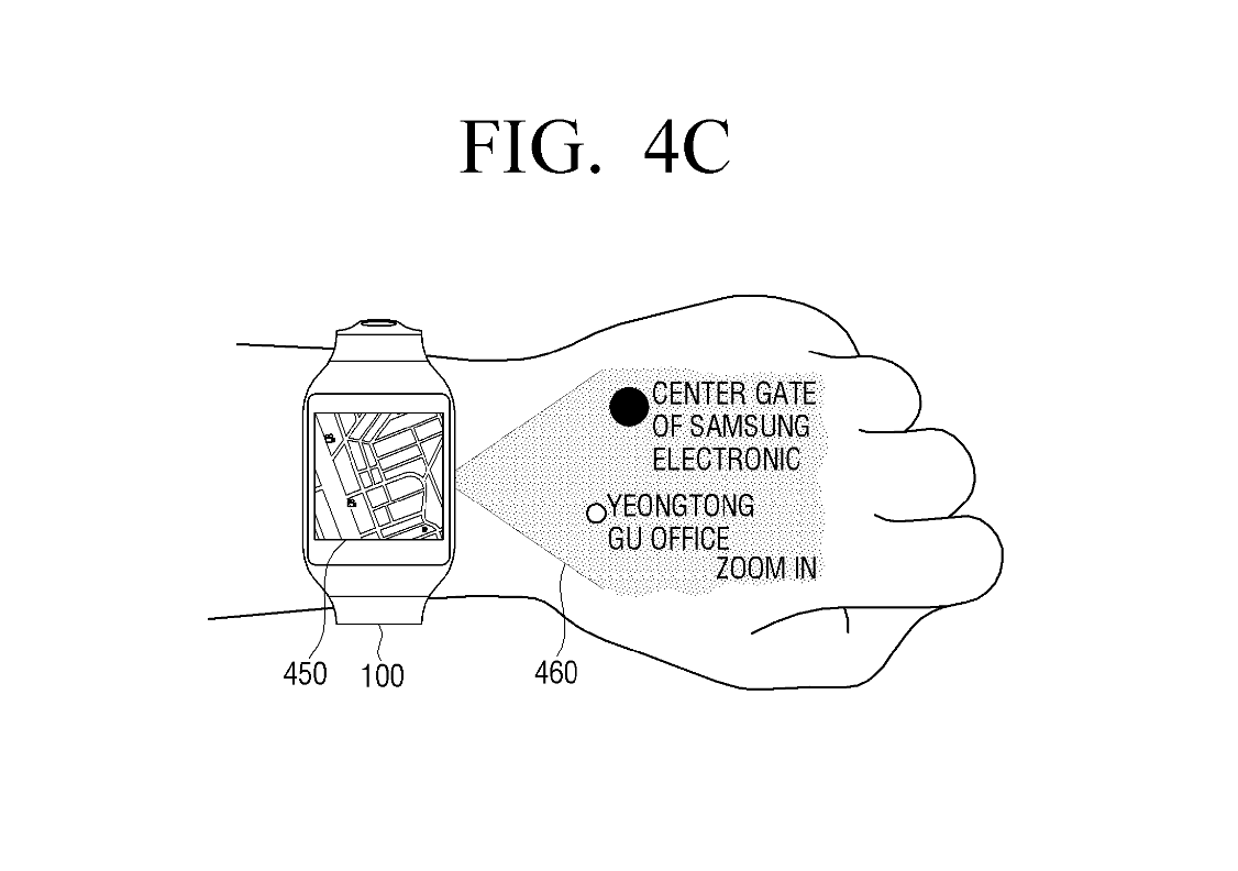 Samsung Wants To Make Smartwatches With Tiny Projectors